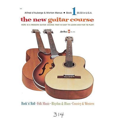 Alfred Publishing Company The New Guitar Course, Book 1