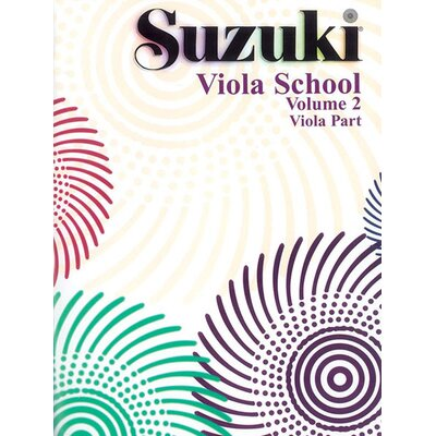 Alfred Publishing Company Suzuki Viola School Viola Part, Volume 2