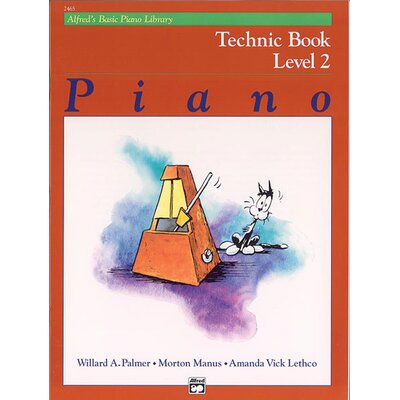 Alfred Publishing Company Basic Piano Course: Technic Book 2