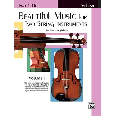 Alfred Publishing Company Beautiful Music for Two String Instruments