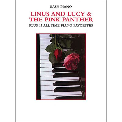 Alfred Publishing Company Linus and Lucy and The Pink Panther Plus 15 All Time Piano Favorites