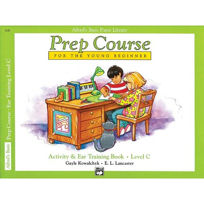 Alfred Publishing Company Basic Piano Prep Course: Activity and Ear Training Book C