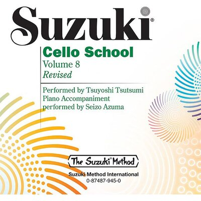 Alfred Publishing Company Suzuki Cello School CD, Volume 8