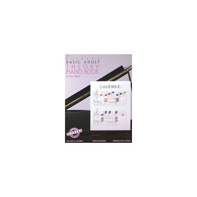 Alfred Publishing Company Basic Adult Piano Course: Theory Book 3