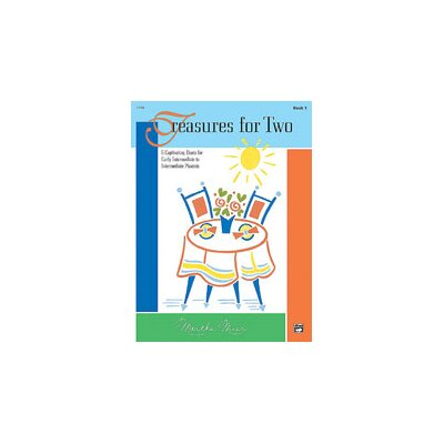 Alfred Publishing Company Treasures for Two, Book 1