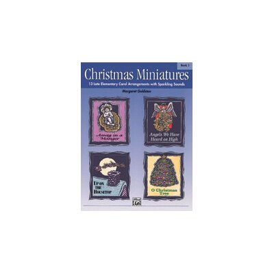 Alfred Publishing Company Christmas Miniatures, Book 1