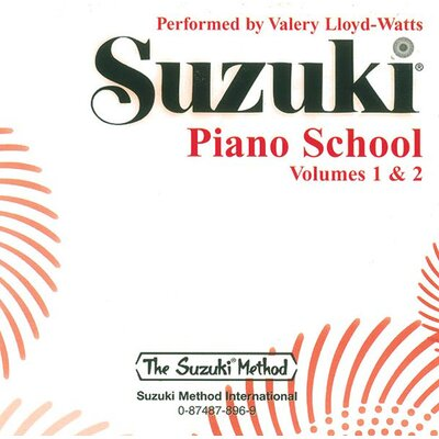 Alfred Publishing Company Suzuki Piano School CD - Volume 1 and 2