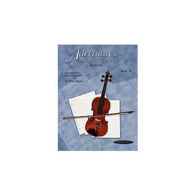 Alfred Publishing Company Adventures in Music Reading for Violin