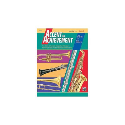 Alfred Publishing Company Accent on Achievement, Book 3: Baritone B.C.