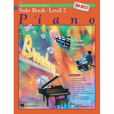 Alfred Publishing Company Basic Piano Course: Top Hits! Solo Book 2