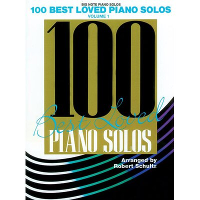 Alfred Publishing Company 100 Best Loved Piano Solos, Volume 1