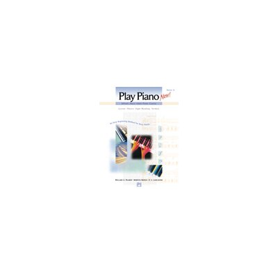 Alfred Publishing Company Basic Adult Play Piano Now - Book 1