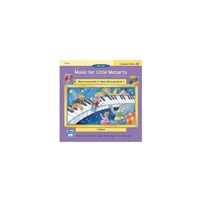 Alfred Publishing Company Music for Little Mozarts: CD 2-Disk Sets for Lesson and Discovery Books, Level 4