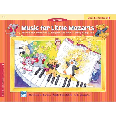 Alfred Publishing Company Music for Little Mozarts: Music Recital Book 1