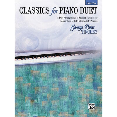 Alfred Publishing Company Classics for Piano Duet, Book 2