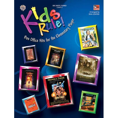 Alfred Publishing Company Kids Rule! (Box Office Hits for the Elementary Player)