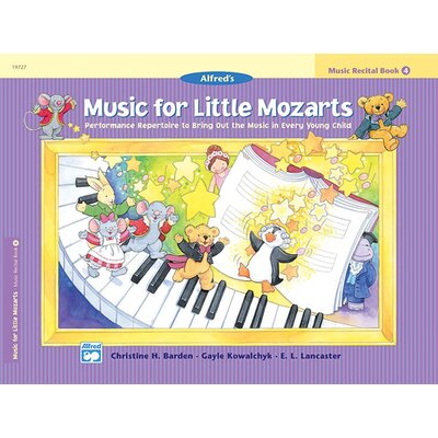 Alfred Publishing Company Music for Little Mozarts: Music Recital Book 4