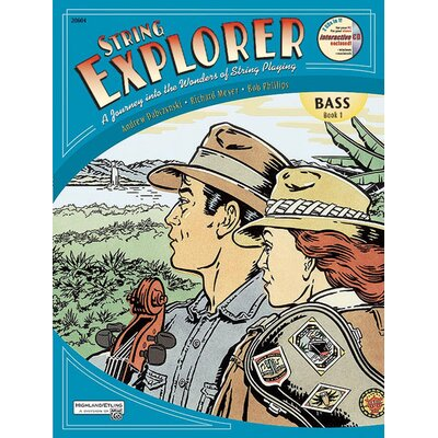 Alfred Publishing Company String Explorer, Book 1 - Bass