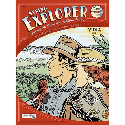 Alfred Publishing Company String Explorer, Book 2 - Viola