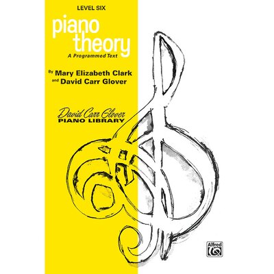 Alfred Publishing Company Piano Theory, Level 6