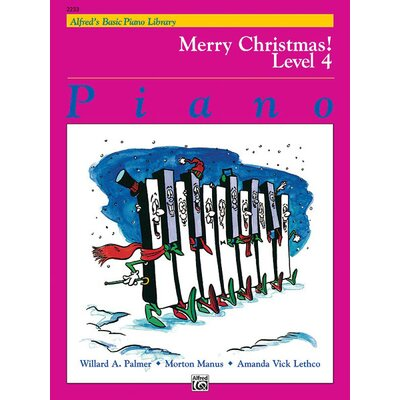 Alfred Publishing Company Basic Piano Course: Merry Christmas! Book 4