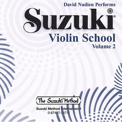 Alfred Publishing Company Suzuki Violin School CD, Volume 2 (CD) Standard