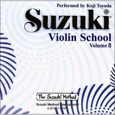 Alfred Publishing Company Suzuki Violin School CD, Volume 8