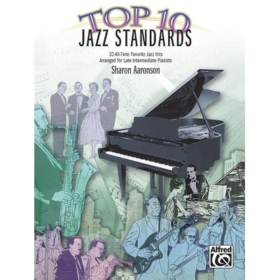 Alfred Publishing Company Top 10 Jazz Standards