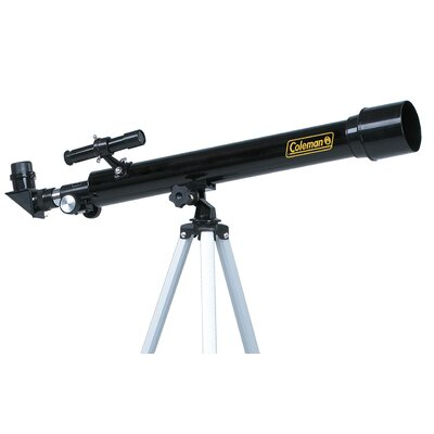 Coleman AstroWatch 625x50 Refractor Telescope in Black