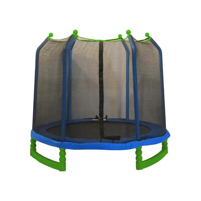 7' Indoor/Outdoor Trampoline with Enclosure