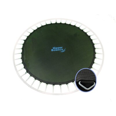 "Upper Bounce Jumping Surface for 12' Trampoline with 72 V-Rings for 7"" Springs"