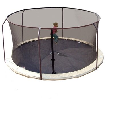 Upper Bounce 15' Replacement Safety Trampoline Net Using 6 Poles
