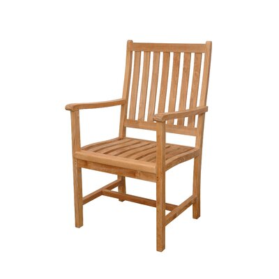 Anderson Teak Wilshire Dining Arm Chair