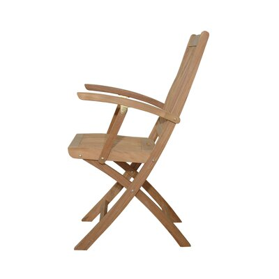 Anderson Teak Tropico Folding Dining Arm Chair (Set of 2)