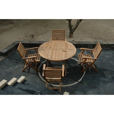 Anderson Collections Bahama 5 Piece Dining Set