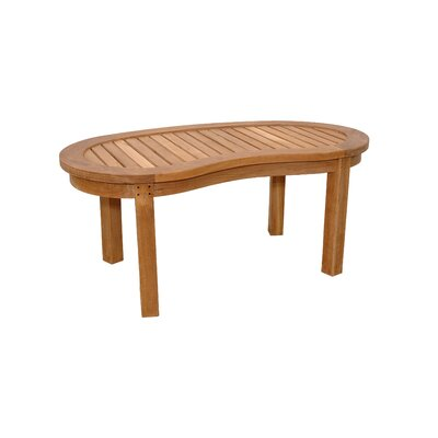 Anderson Teak Kidney Curve Coffee Table