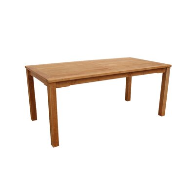 Anderson Teak Bahama Rectangular Dining Table