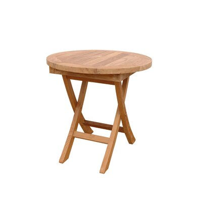Bahama Mini Round Folding Side Table