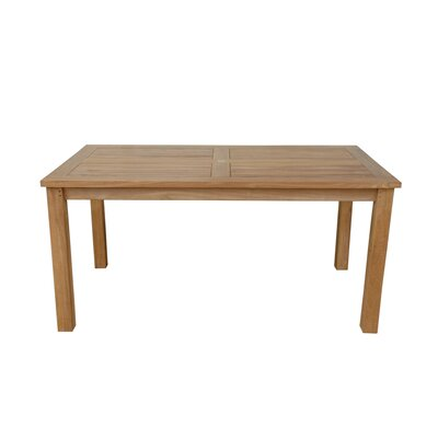 Anderson Teak Montage Rectangular Dining Table