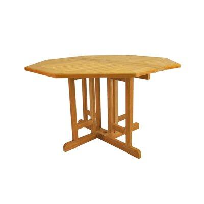 "Anderson Teak Bahama 47"" Octagonal Butterfly Folding Table"
