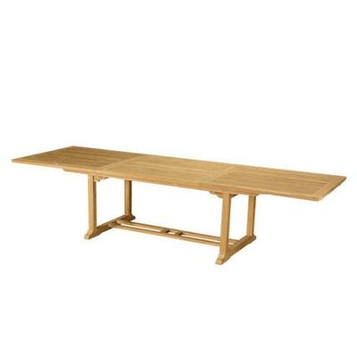 "Anderson Teak Bahama 118"" Rectangular Extension Table"