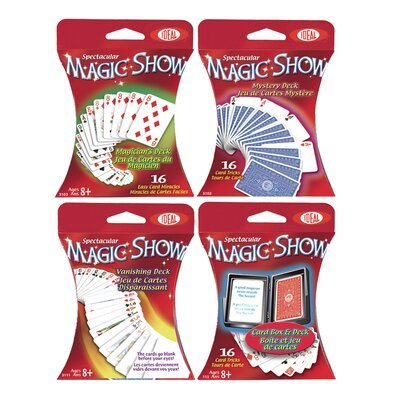 POOF-Slinky, Inc Magic Card Assortment 4 Piece Set