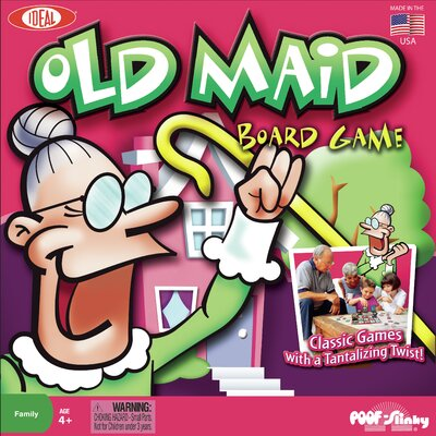 POOF-Slinky, Inc Old Maid Board Game