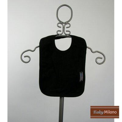 Baby Milano Bib in Black