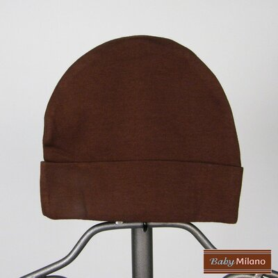 Baby Milano Beanie Hat in Brown