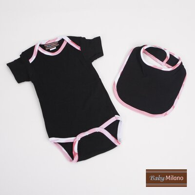 Baby Milano Gift Set in Black and Pink Camouflage