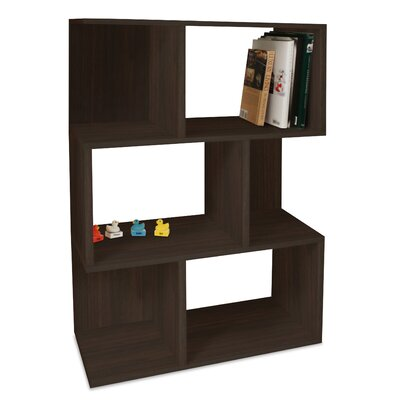Way Basics Eco-Friendly Madison Bookcase in Espresso