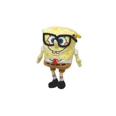 TY Nickelodeon SpongeBob SquarePants Beanie Babies with Smarty Pants