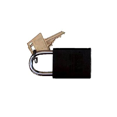 Morris Products Hardened Steel Padlocks Keyed Alike