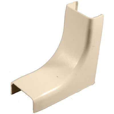 "Morris Products 1"" Inside Corner in Ivory"